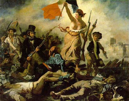 'Liberty Leading the People' (1830) 260 x 325 cm