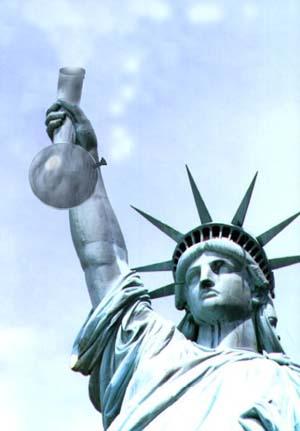 Statue of Liberty w/bong
