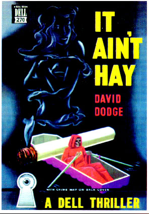 Book cover, 'It Ain't Hay' (1949) cover artist Gerald Gregg