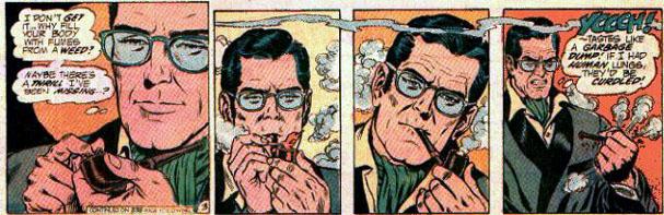 Superman experiments